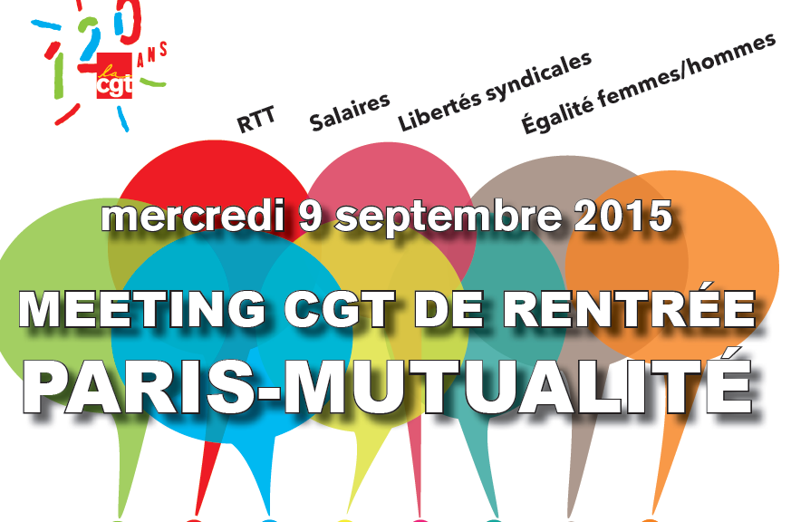 meeting de rentrée paris - 9 sept 2015